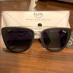 Quay cat eye sunglasses.